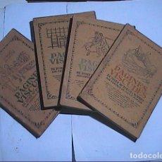 Libros antiguos: LOTE DE 4 LIBROS DE PÀGINES VISCUDES. JOSEP Mª FOLCH I TORRES. 1915 - 1917.. Lote 184237218
