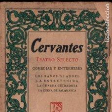 Libros antiguos: CERVANTES : LOS BAÑOS DE ARGEL Y OTRAS OBRAS (PROMETEO, C. 1920) . Lote 184476361