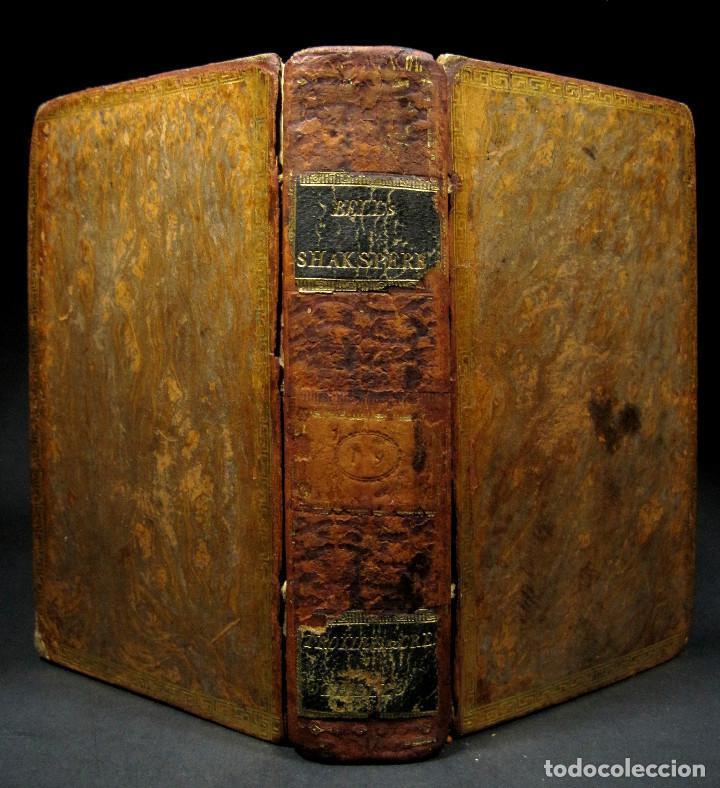 Libros antiguos: Año 1788 Shakespeare Otelo Troilo y Crésida 4 grabados a plena página 2 obras en un volúmen Othello - Foto 7 - 109644651