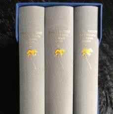 Libros antiguos: A LA RECERCA DEL TEMPS PERDUT - PROUST - - COMPLETA 3 T - ESTUCHE - ED. 2300 EJ. TRAD.: JAUME VIDAL. Lote 184602701
