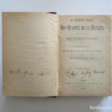 Libros antiguos: DON QUIJOTE DE LA MANCHA, MIGUEL DE CERVANTES, EDICIÓN LIBRERÍA Y CASA EDITORIAL HERNANDO, 1928. Lote 184883855