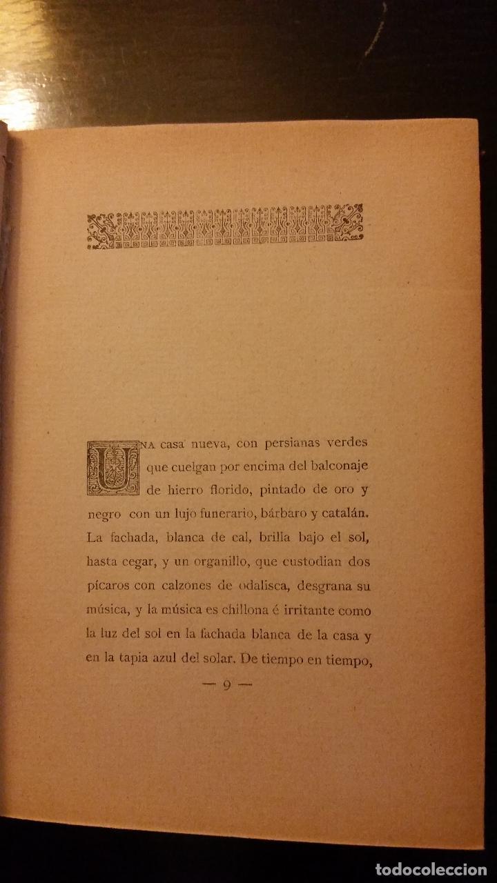 Libros antiguos: 1908 - RAMÓN DEL VALLE INCLÁN - EL YERMO DE LAS ARMAS - 1ª ED. - Foto 3 - 186155625