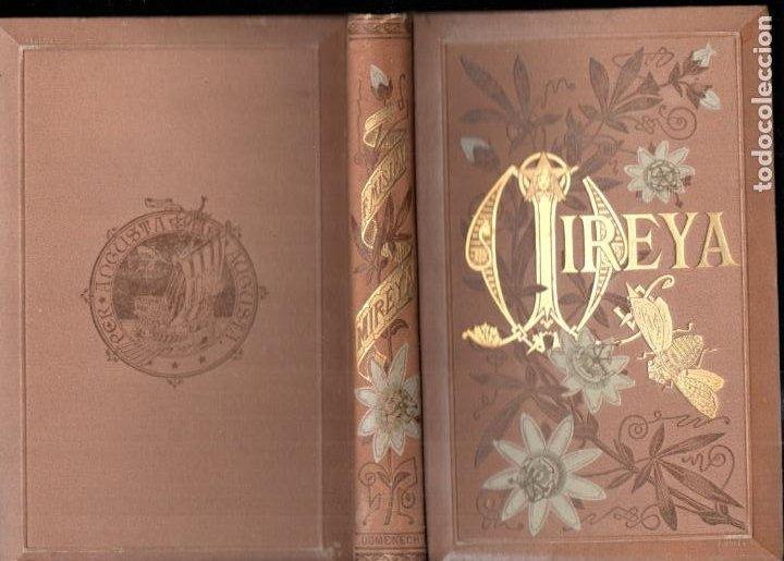 FEDERICO MISTRAL : MIREYA (ARTE Y LETRAS 1882) ILUSTRACIONES DE ENRIQUE SERRA (Libros antiguos (hasta 1936), raros y curiosos - Literatura - Narrativa - Clásicos)