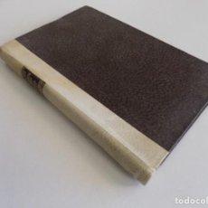 Libros antiguos: LIBRERIA GHOTICA. LUJOSA EDICIÓN DE EUGENIO D ´ORS. OCEANOGRAFIA DEL TEDIO. 1920. PERGAMINO. Lote 187119812
