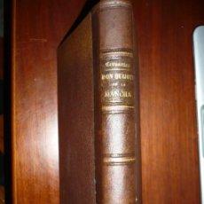 Libros antiguos: EL INGENIOSO HIDALGO DON QUIJOTE+EL BUSCAPIE MIGUEL DE CERVANTES SAAVEDRA 1865 MADRID . Lote 187129285