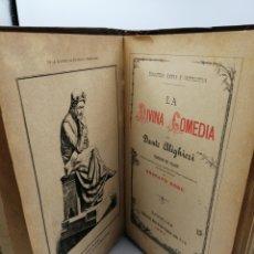Livres anciens: LA DIVINA COMEDIA. 1883. ILUSTRACIONES DE GUSTAVO DORÉ. Lote 187333366
