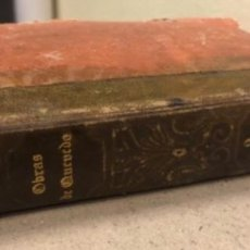 Libros antiguos: OBRAS FESTIVAS DE DON FRANCISCO DE QUEVEDO VILLEGAS, TOMO II. MELLADO EDITOR, MADRID 1845.. Lote 139202270