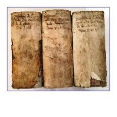 Libros antiguos: AÑO 1750: DON QUIJOTE DE LA MANCHA. 6 TOMOS ILUSTRADOS EN 3 VOLÚMENES EN PERGAMINO. SIGLO XVIII.. Lote 187591477