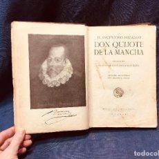 Libros antiguos: DON QUIJOTE DE LA MANCHA CERVANTES BIBLIOTECA PERLA SEGUNDA SERIE III CALLEJA ILUSTRADA MANUEL ÁNGEL. Lote 188685327