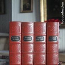 Libros antiguos: DON QUIJOTE, CERVANTES, 4 TOMOS, EDICIÓN DE JUSTO GARCIA MORALES Y JUSTO GARCIA SORIANO. Lote 188731928