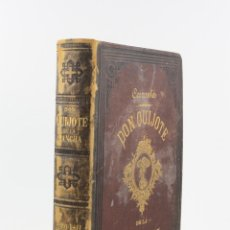 Libros antiguos: EL INGENIOSO HIDALGO DON QUIJOTE DE LA MANCHA, 1882, ILUSTRACIONES RAMON PUIGGARÍ, BARCELONA.. Lote 235330425
