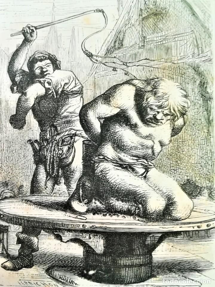 Libros antiguos: LIBRO,NOTRE DAME DE PARIS,DE VICTOR HUGO,SIGLO XIX, AÑO 1865,EL JOROBADO,NOVELA GOTICA CLASICA - Foto 17 - 189176180
