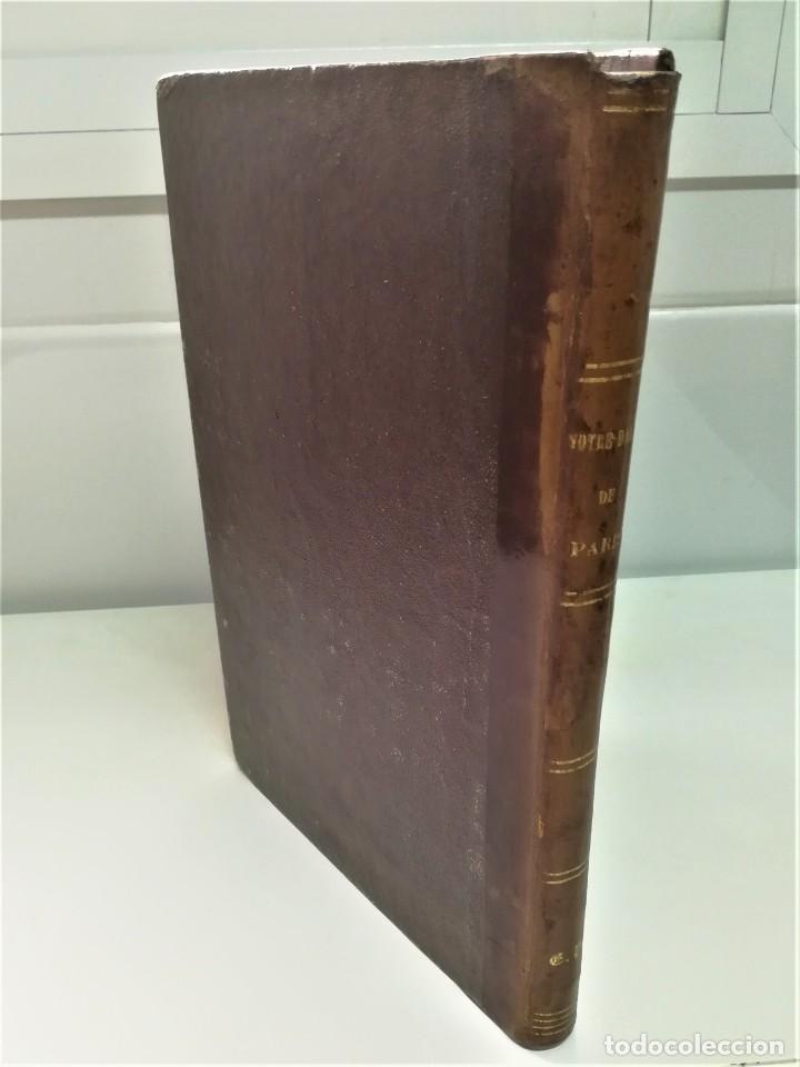 Libros antiguos: LIBRO,NOTRE DAME DE PARIS,DE VICTOR HUGO,SIGLO XIX, AÑO 1865,EL JOROBADO,NOVELA GOTICA CLASICA - Foto 3 - 189176180