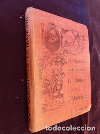 Libros antiguos: EL INGENIOSO HIDALGO D. QUIJOTE DE LA MANCHA. Edición ALEU - Madrid, 1915 - Foto 2 - 189204972