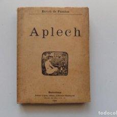 Libros antiguos: LIBRERIA GHOTICA. ENRICH DE FUENTES. APLECH. ANTONI LOPEZ EDITOR 1902.PRIMERA EDICIÓN. Lote 189496656