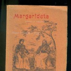 Libros antiguos: NUMULITE L0511 MARGARIDETA NOVELA TRISTA MIQUEL TORROELLA Y PLAJA GIRONA TIPOGRAFICH DOLORS TORRES. Lote 189514947