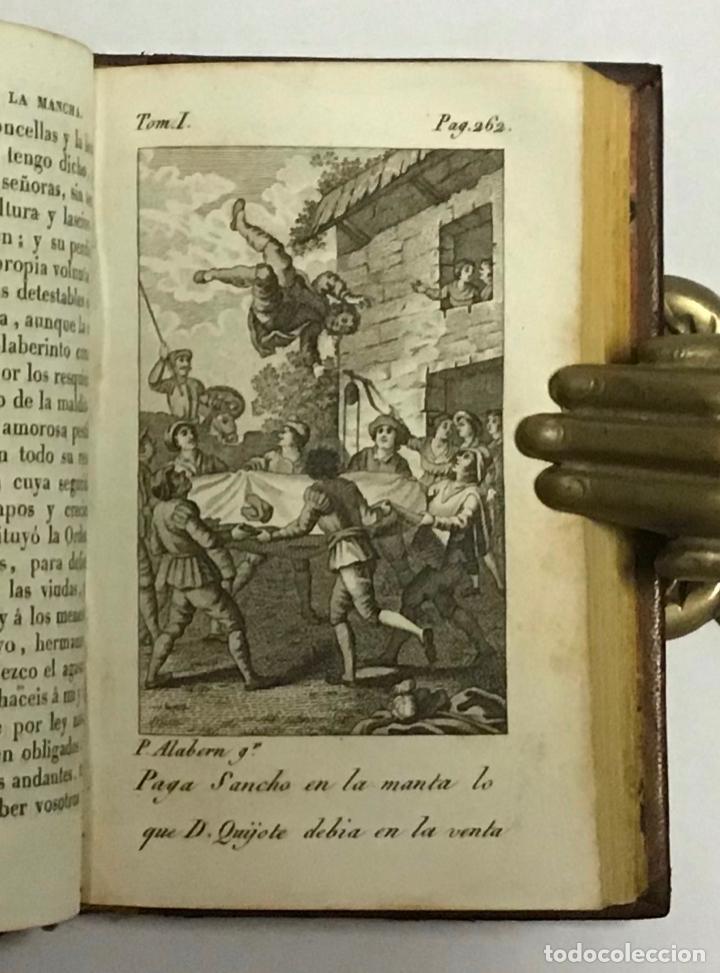 Libros antiguos: CERVANTES SAAVEDRA, Miguel de. EL INGENIOSO HIDALGO DON QUIJOTE DE LA MANCHA. 1832 6 TOMOS. GRABADOS - Foto 5 - 189554107