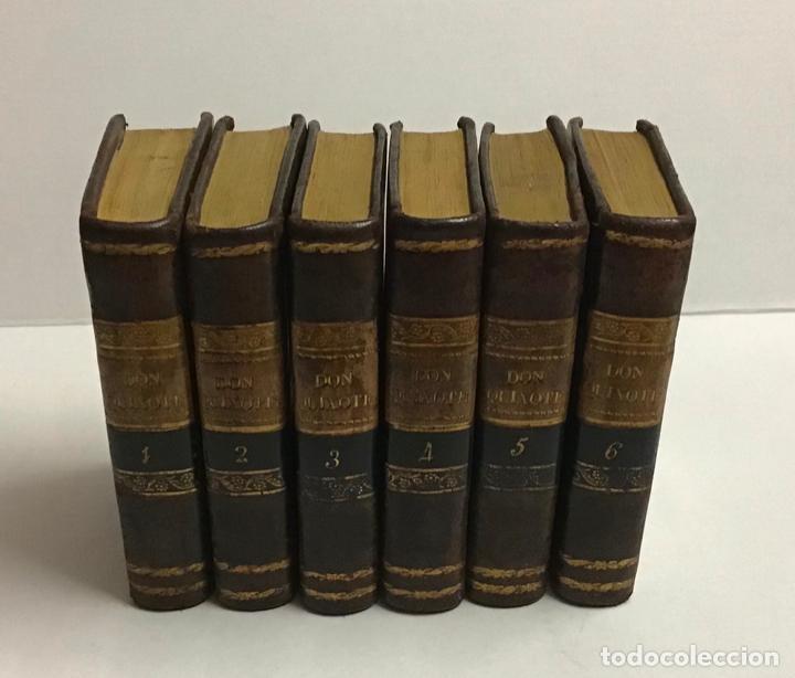 CERVANTES SAAVEDRA, MIGUEL DE. EL INGENIOSO HIDALGO DON QUIJOTE DE LA MANCHA. 1832 6 TOMOS. GRABADOS (Libros antiguos (hasta 1936), raros y curiosos - Literatura - Narrativa - Clásicos)