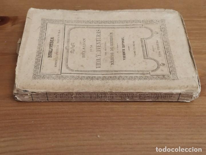 Libros antiguos: RELACIÓN DE LA VIDA Y AVENTURAS DEL ESCUDERO TOMO PRIMERO MARCOS DE OBREGÓN 1887 - VICENTE ESPINEL. - Foto 3 - 189733525