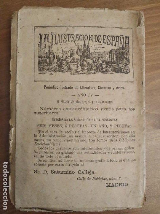 Libros antiguos: RELACIÓN DE LA VIDA Y AVENTURAS DEL ESCUDERO TOMO PRIMERO MARCOS DE OBREGÓN 1887 - VICENTE ESPINEL. - Foto 6 - 189733525