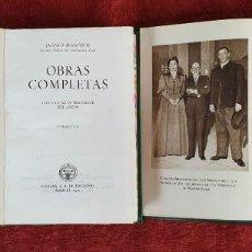 Libros antiguos: OBRAS COMPLETAS JACINTO BENAVENTE. TOMOS VIII Y IX. EDIT. AGUILAR. 1947. Lote 190206200