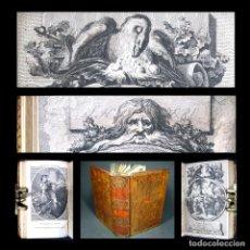 Libros antiguos: AÑO 1788 SHAKESPEARE EL REY LEAR Y TIMÓN DE ATENAS 2 OBRAS 6 GRABADOS EX-LIBRIS EDICIÓN DE BELL RARO. Lote 190304925