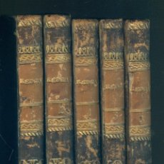 Libros antiguos: NUMULITE L1139 REDGAUNTLET SIR WALTER SCOTT IMPRENTA BERGNES Y COMP. 1833 5 TOMOS. Lote 190479850