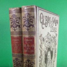 Libros antiguos: 1.900 GIL BLAS DE SANTILLANA. LESAGE.. Lote 190546498
