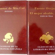 Libros antiguos: CLASICOS DE LA LITERATURA- FOTO 599- 2 TOMOS. Lote 190609146