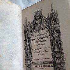 Libros antiguos: CERVANTES - EL INGENIOSO HIDALGO DON QUIJOTE DE LA MANCHA - 1832. Lote 190620750