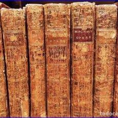 Libri antichi: AÑO 1768: MAQUIAVELO: EL ARTE DE LA GUERRA, EL PRÍNCIPE Y OTRAS OBRAS. 7 TOMOS DEL SIGLO XVIII.. Lote 190719783