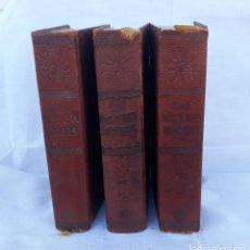 Libros antiguos: 3 TOMOS DE LAS MIL Y UNA NOCHES AÑO 65. Lote 190741287