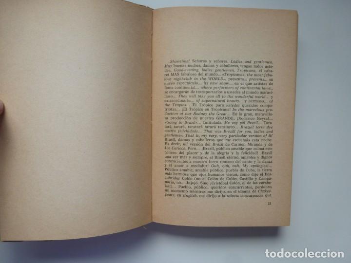 Libros antiguos: TRES TRISTES TIGRES. G. CABRERA INFANTE. PRIMERA EDICIÓN. DIFÍCIL - Foto 4 - 191156118