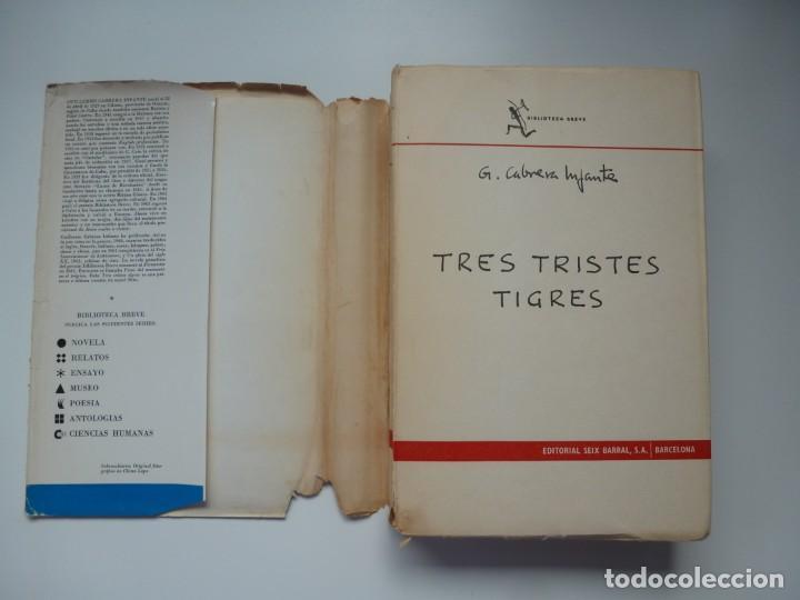 Libros antiguos: TRES TRISTES TIGRES. G. CABRERA INFANTE. PRIMERA EDICIÓN. DIFÍCIL - Foto 6 - 191156118