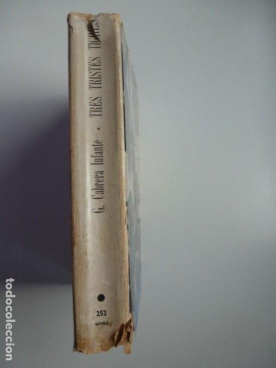 Libros antiguos: TRES TRISTES TIGRES. G. CABRERA INFANTE. PRIMERA EDICIÓN. DIFÍCIL - Foto 7 - 191156118