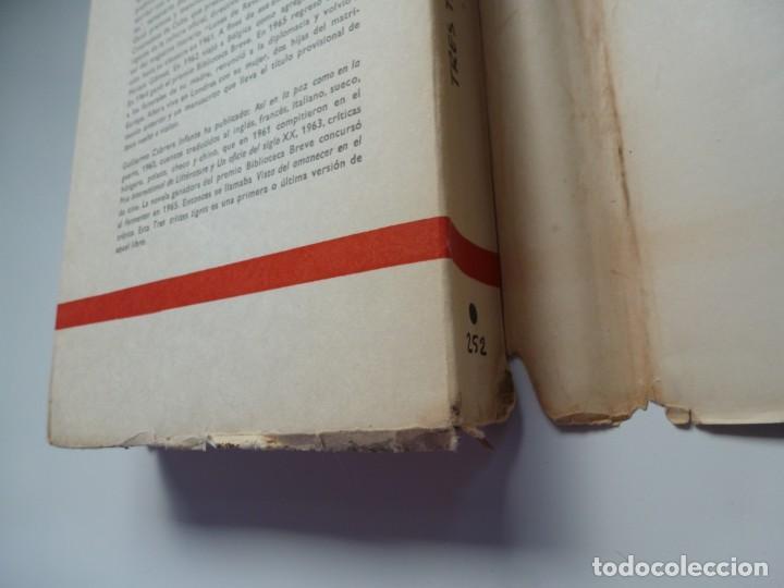 Libros antiguos: TRES TRISTES TIGRES. G. CABRERA INFANTE. PRIMERA EDICIÓN. DIFÍCIL - Foto 8 - 191156118