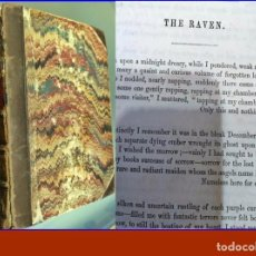 Libros antiguos: 1856: THE WORKS OF EDGAR ALLAN POE. THE RAVEN (EL CUERVO). NEW YORK.. Lote 191354058