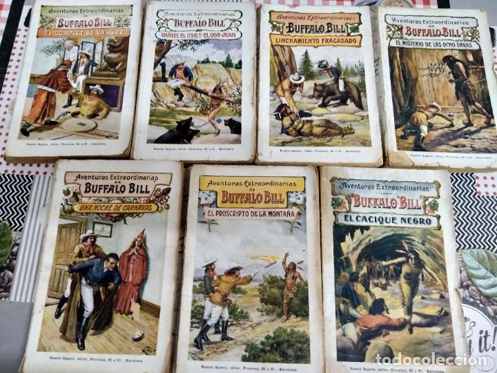 LOTE DE 7 EJEMPLARES. AVENTURAS EXTRAORDINARIAS DE BÚFFALO BILL. RAMÓN SOPENA. AÑO 1931. (Libros antiguos (hasta 1936), raros y curiosos - Literatura - Narrativa - Clásicos)