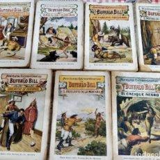 Libros antiguos: LOTE DE 7 EJEMPLARES. AVENTURAS EXTRAORDINARIAS DE BÚFFALO BILL. RAMÓN SOPENA. AÑO 1931.. Lote 191523715