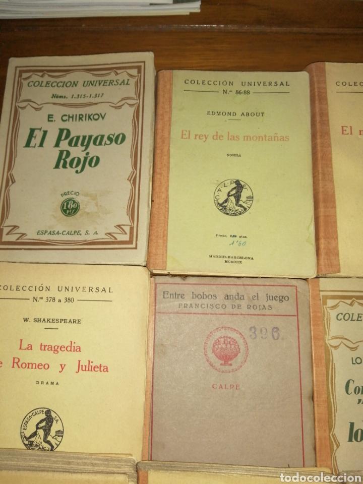 Libros antiguos: Colección Universal Espasa Calpe años 30 - Foto 2 - 191713662