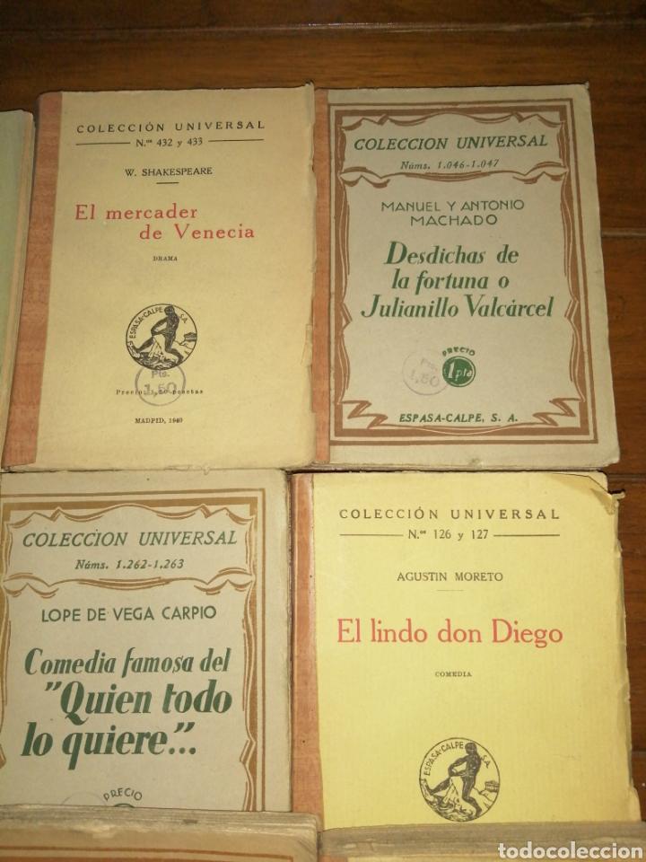 Libros antiguos: Colección Universal Espasa Calpe años 30 - Foto 3 - 191713662