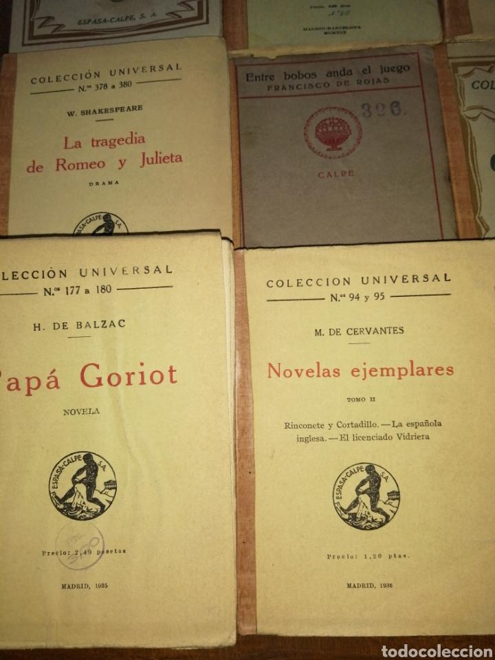 Libros antiguos: Colección Universal Espasa Calpe años 30 - Foto 5 - 191713662