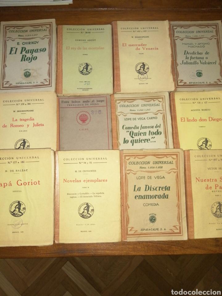 COLECCIÓN UNIVERSAL ESPASA CALPE AÑOS 30 (Libros antiguos (hasta 1936), raros y curiosos - Literatura - Narrativa - Clásicos)