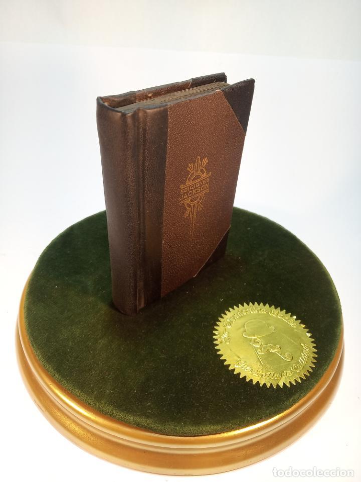 Libros antiguos: Colección de 8 tomos de la colección Jackson de clásicos Argentinos. 1944. Raro. En estantería. - Foto 4 - 191726506