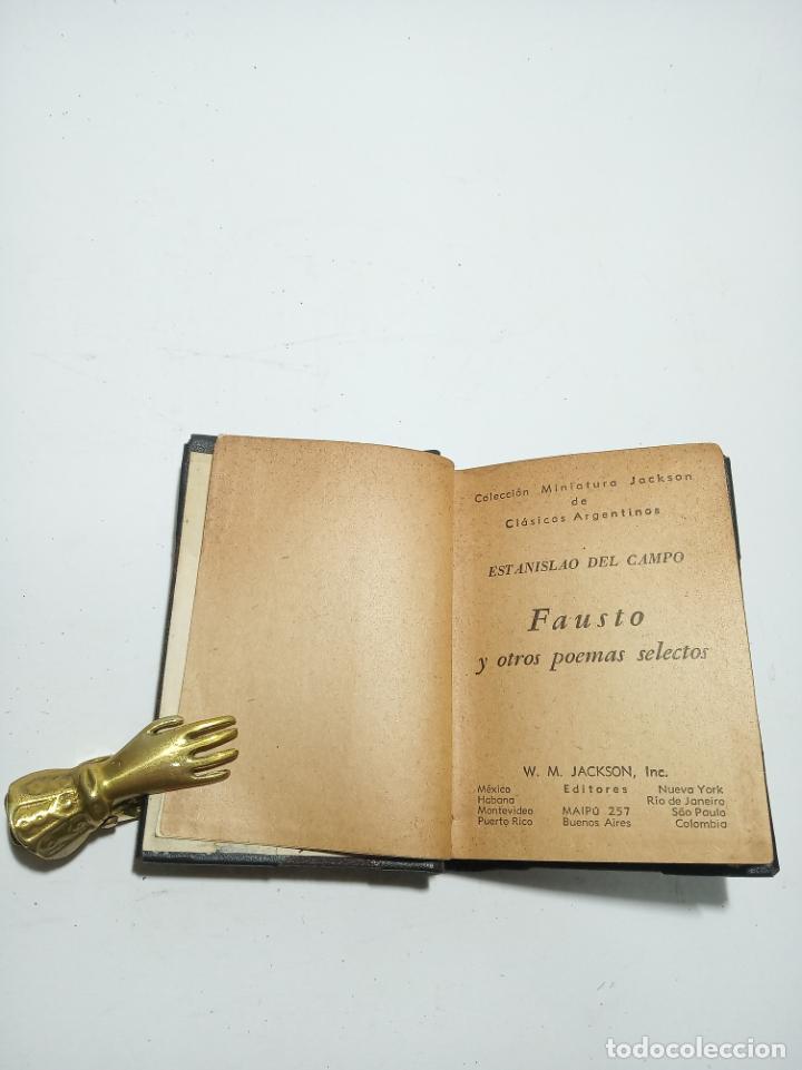 Libros antiguos: Colección de 8 tomos de la colección Jackson de clásicos Argentinos. 1944. Raro. En estantería. - Foto 5 - 191726506