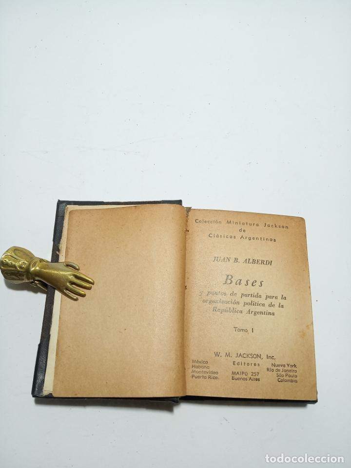 Libros antiguos: Colección de 8 tomos de la colección Jackson de clásicos Argentinos. 1944. Raro. En estantería. - Foto 10 - 191726506