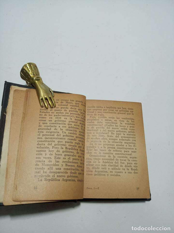 Libros antiguos: Colección de 8 tomos de la colección Jackson de clásicos Argentinos. 1944. Raro. En estantería. - Foto 11 - 191726506