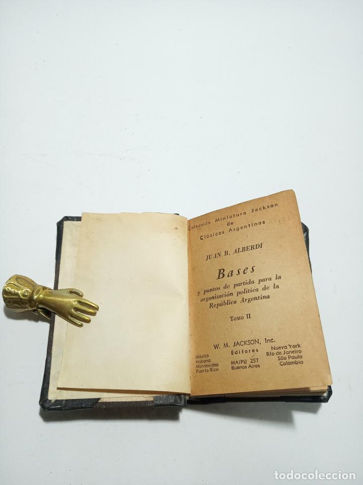 Libros antiguos: Colección de 8 tomos de la colección Jackson de clásicos Argentinos. 1944. Raro. En estantería. - Foto 13 - 191726506