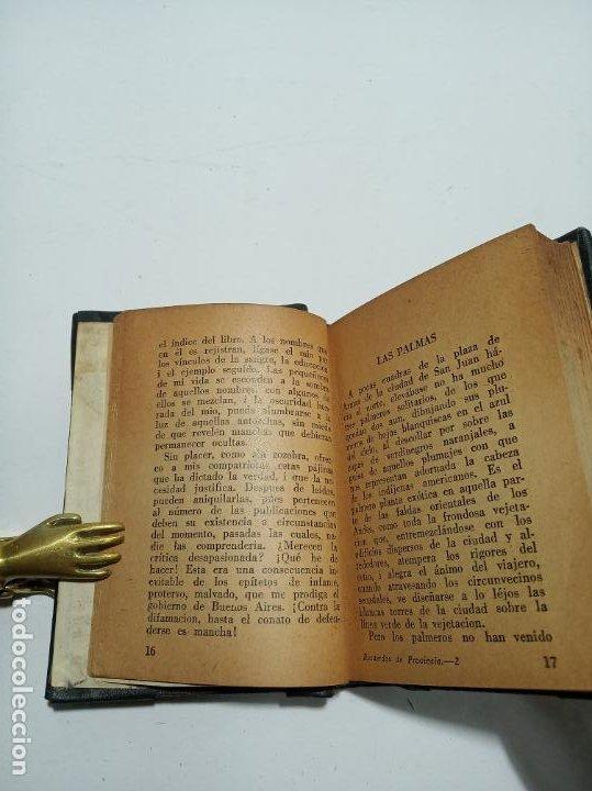 Libros antiguos: Colección de 8 tomos de la colección Jackson de clásicos Argentinos. 1944. Raro. En estantería. - Foto 17 - 191726506