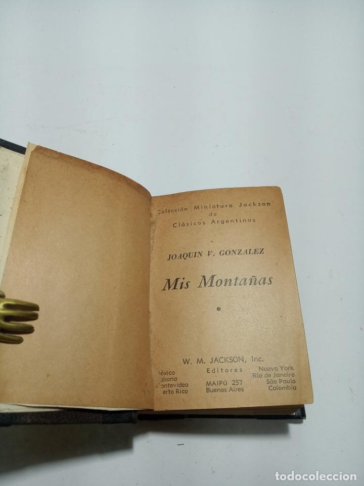 Libros antiguos: Colección de 8 tomos de la colección Jackson de clásicos Argentinos. 1944. Raro. En estantería. - Foto 22 - 191726506